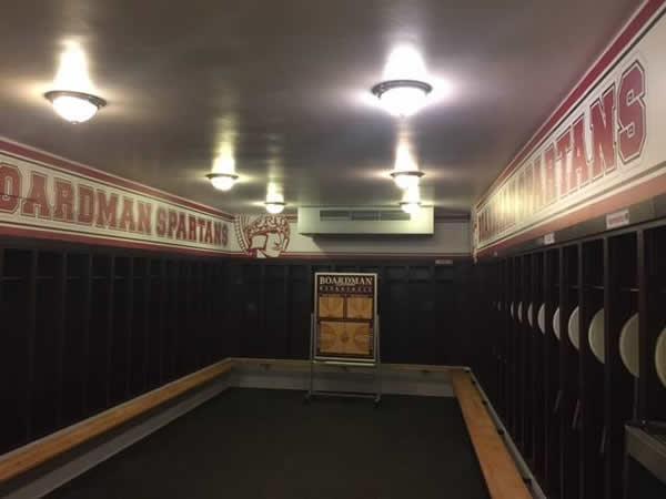 Girls Locker Room Renovations